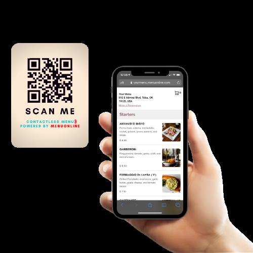 Increase sales with Menu Online